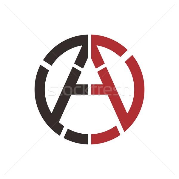 Communisme globale partij vector kunst illustratie Stockfoto © vector1st