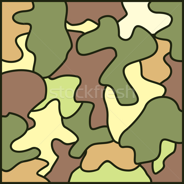 Ejército vector arte ilustración Foto stock © vector1st