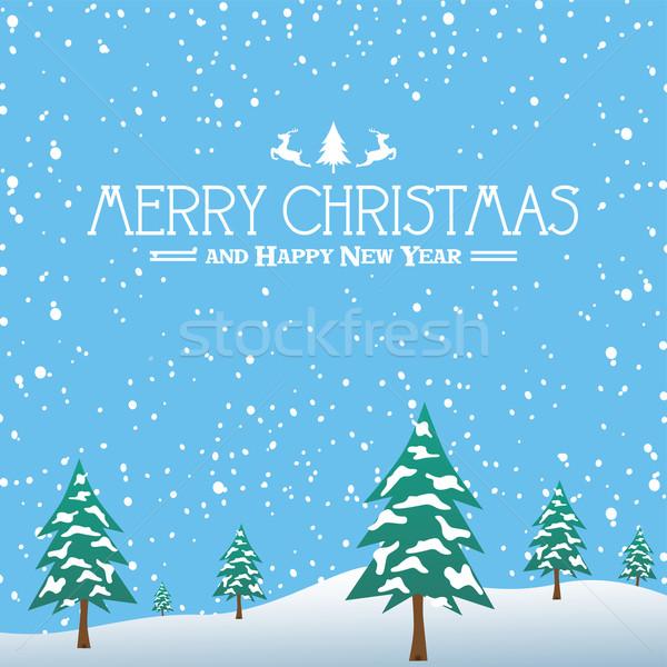 merry christmas Stock photo © vector1st