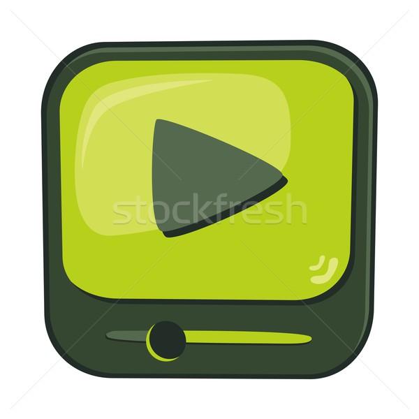 Icoană buton vector grafic artă Imagine de stoc © vector1st