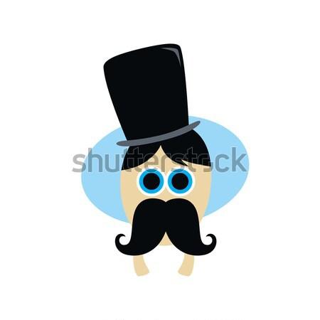 Cartoon monstre personnage vecteur art illustration Photo stock © vector1st