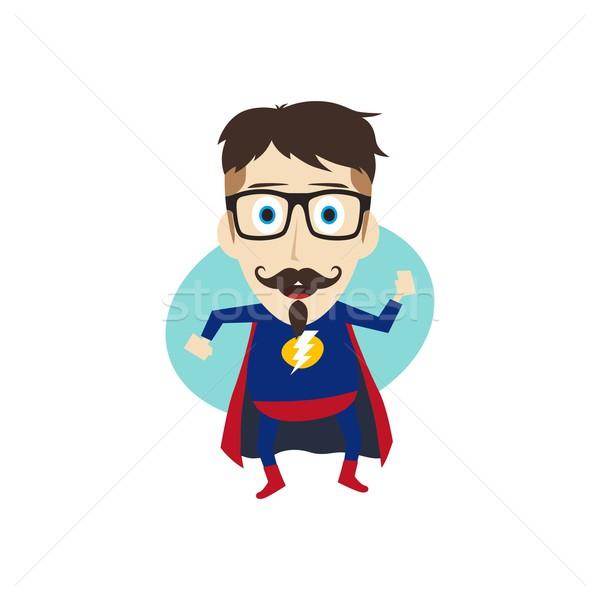 Cartoon vector kunst illustratie Stockfoto © vector1st