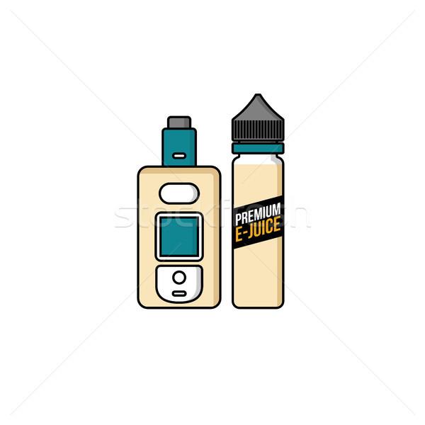 個人 液体 プラスチック ボトル ベクトル 芸術 ストックフォト © vector1st