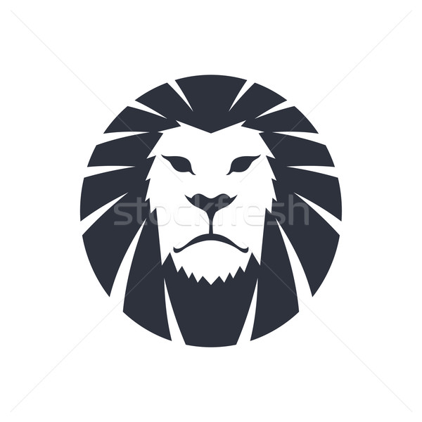 lion head template vector illustration vector1st 7145497