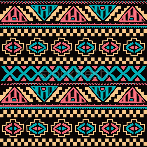 Stock photo: native ethnic seamless pattern