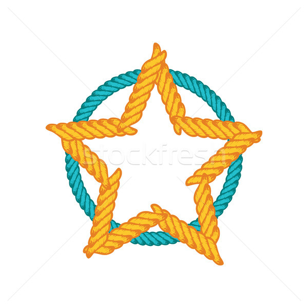 star lasso rope vector Stock photo © vector1st