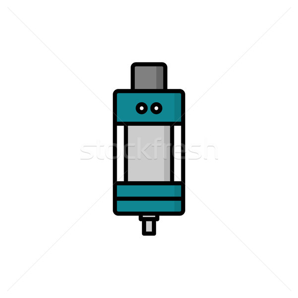 Stock photo: personal vaporizer e-cigarette atomizer tank clearomizer atty