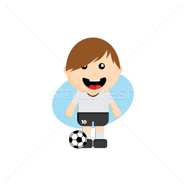 Grup takım futbol turnuvası Rusya vektör sanat Stok fotoğraf © vector1st
