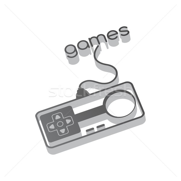 gaming console theme Stock photo © vector1st
