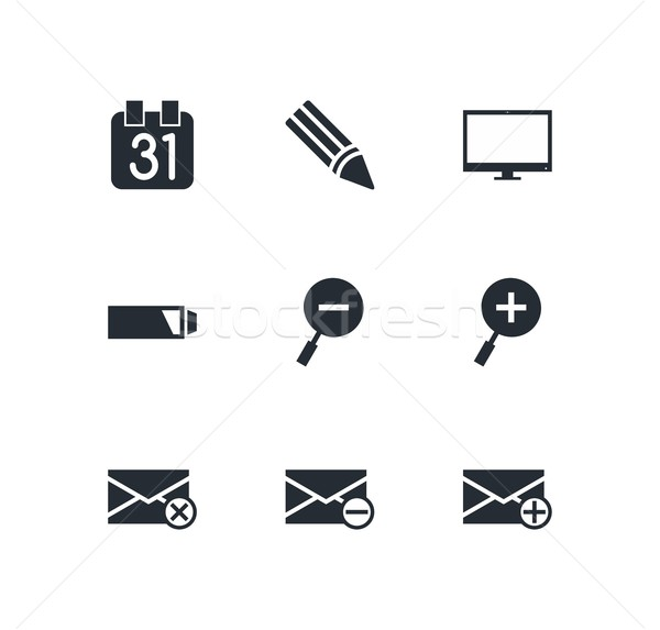 icon theme Stock photo © vector1st