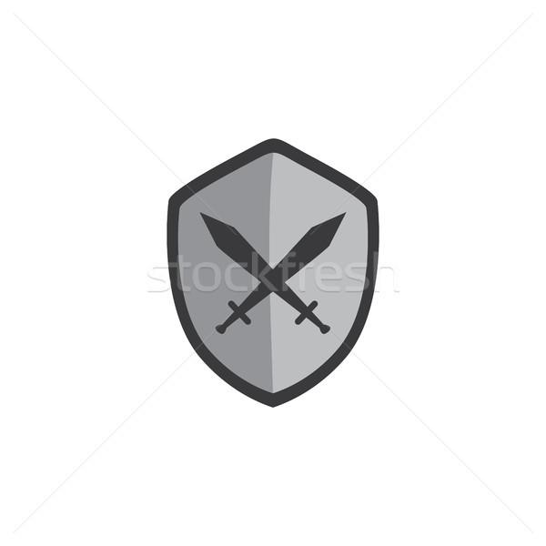 Spiel Asset Menü Schicht Videospiel Symbol Stock foto © vector1st