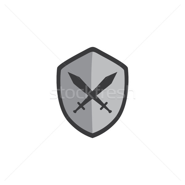 Spel menu laag video game icon Stockfoto © vector1st