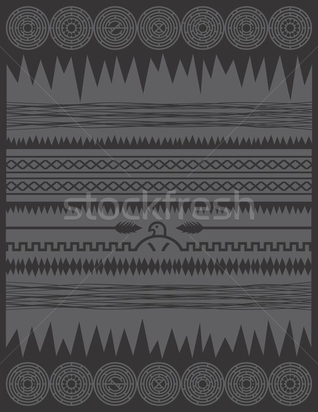 native american pattern Stock photo © vector1st