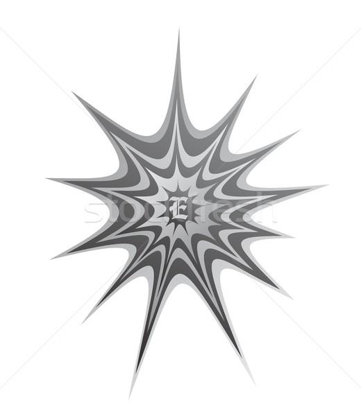 Stock foto: Spinnennetz · Vektor · Grafik · Kunst · Design · Illustration