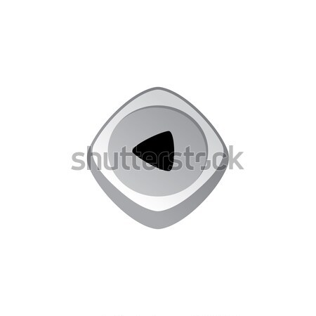 glossy color app icon button game asset theme vector Stock photo © vector1st