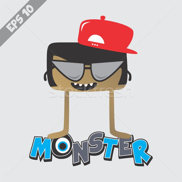 cartoon monster character Stock photo © vector1st