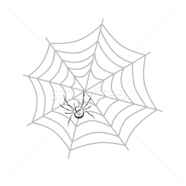 color spiderweb art Stock photo © vector1st