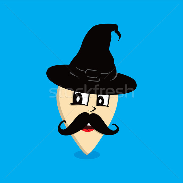 wizard map pin locator - location marker vector Stock photo © vector1st