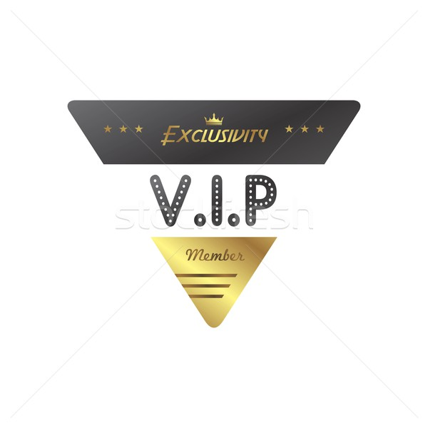 vip member badge Stock photo © vector1st