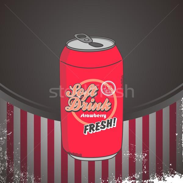 Comida beber desenho animado vetor gráfico arte Foto stock © vector1st