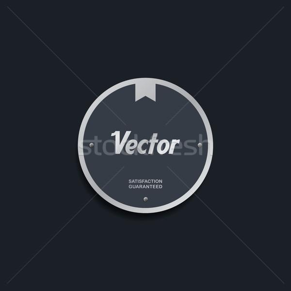 Etiqueta etiqueta eps formato gráfico Foto stock © vector1st