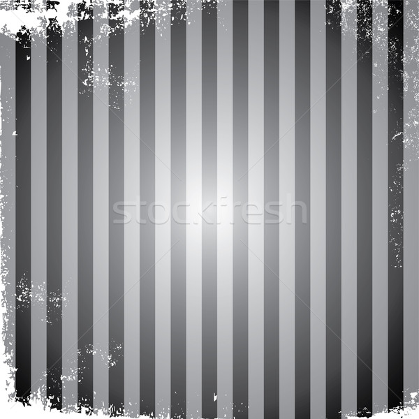 grungy stripe broken page frame vintage retro theme vector art Stock photo © vector1st