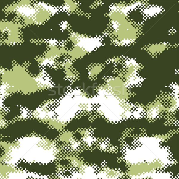 Пиксели полутоновой вектора искусства иллюстрация бумаги Сток-фото © vector1st