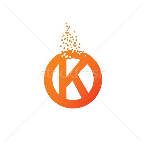 サークル 手紙 ロゴデザイン テンプレート ベクトル ビジネス ストックフォト © vector1st