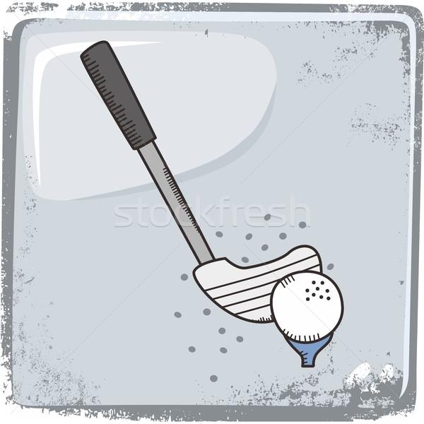 golf sports theme Stock photo © vector1st
