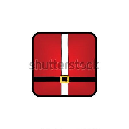 Joyeux Noël icône logo vecteur Photo stock © vector1st