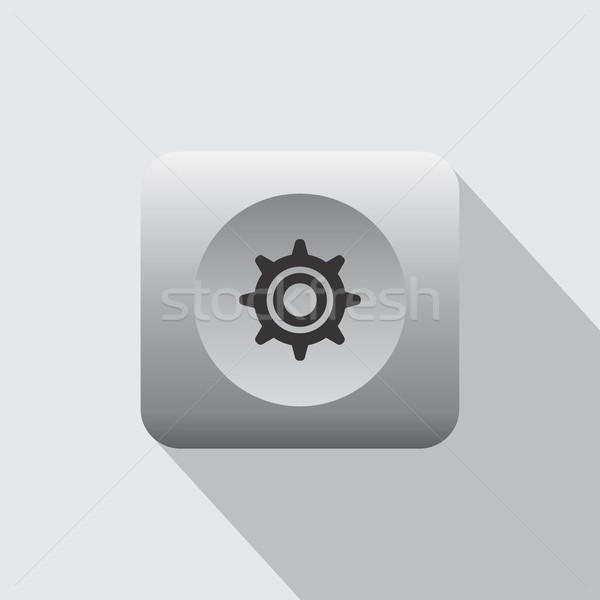 setting menu icon Stock photo © vector1st