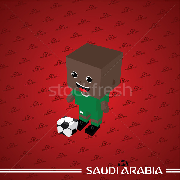 group team russia soccer tournament 2018 Stock photo © vector1st