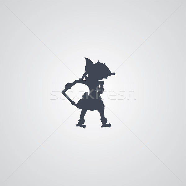 indonesia wayang puppet Stock photo © vector1st