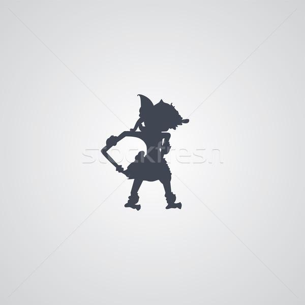 Индонезия марионеточного вектора искусства иллюстрация небе Сток-фото © vector1st