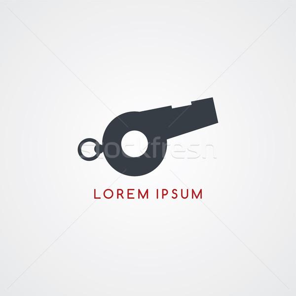 whistle icon sign logotype Stock photo © vector1st