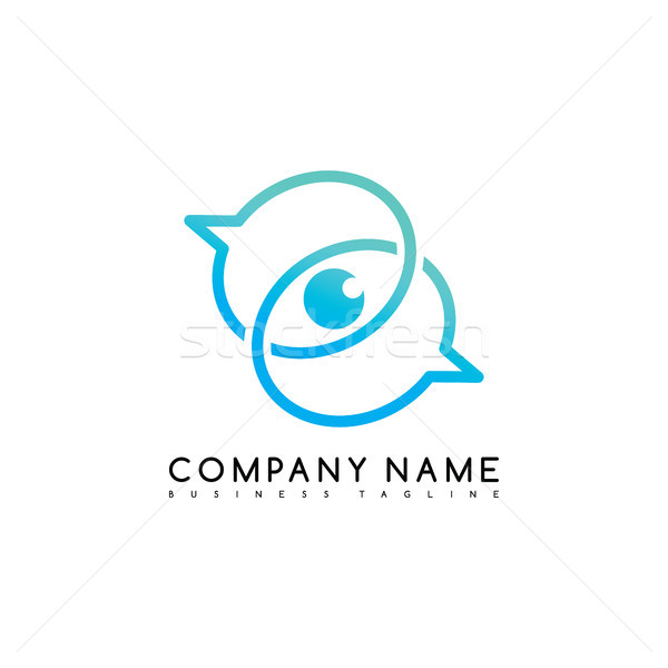 exclusive brand company template logo logotype vector art Stock photo © vector1st