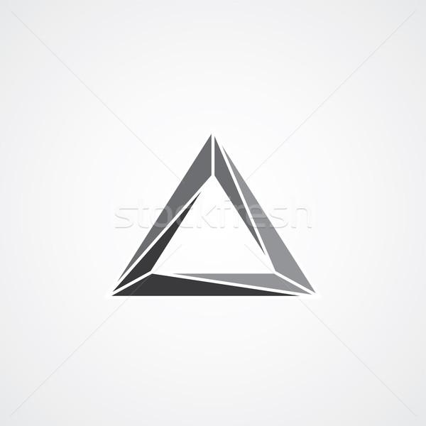 Stok fotoğraf: üçgen · vektör · grafik · sanat · örnek