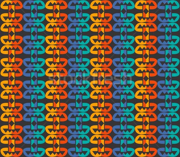 Minta művészet vektor grafikus terv illusztráció Stock fotó © vector1st