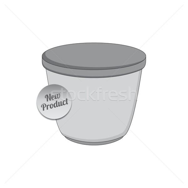 Producto industria envases contenedor vector gráfico Foto stock © vector1st