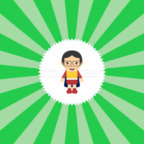 superhero cartoon character Stock photo © vector1st
