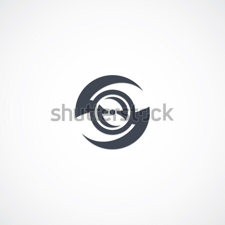 chopper motorcycle logotype Stock photo © vector1st