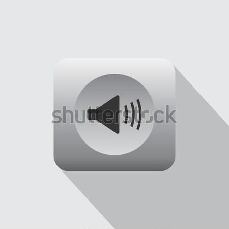 Volumen icono vector arte gráfico ilustración Foto stock © vector1st