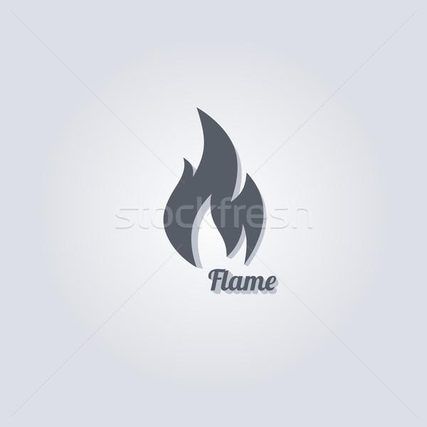 hot fire Stock photo © vector1st