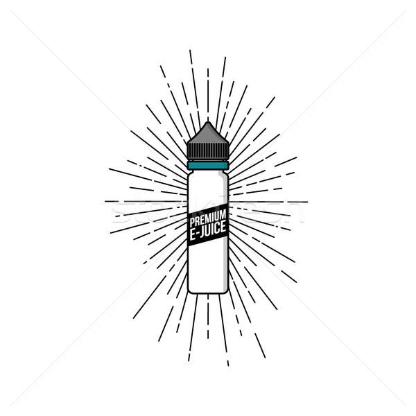 個人 液体 プラスチック ボトル スパーク ストックフォト © vector1st