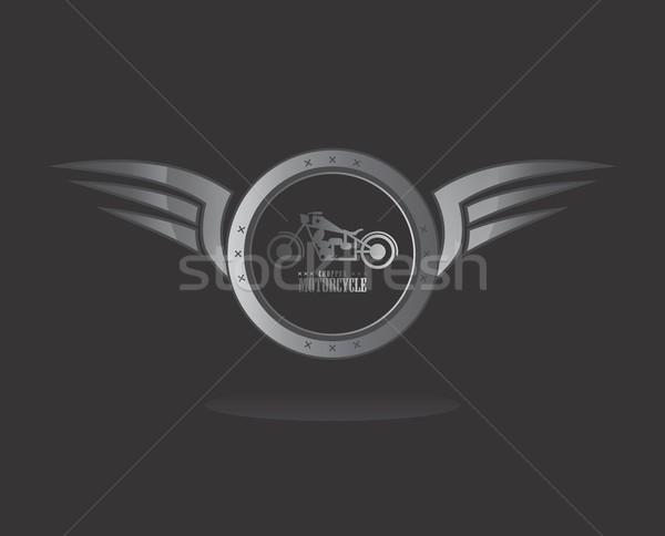 Stock fotó: Szárny · művészet · vektor · grafikus · terv · illusztráció