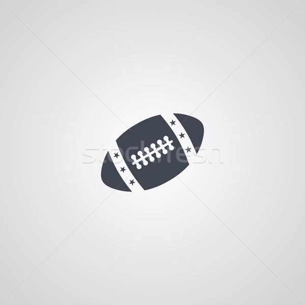 американский футбола вектора искусства иллюстрация Сток-фото © vector1st
