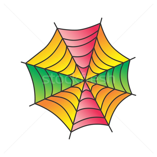 spider web art Stock photo © vector1st