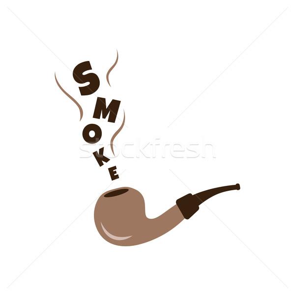 tobacco pipe Stock photo © vector1st