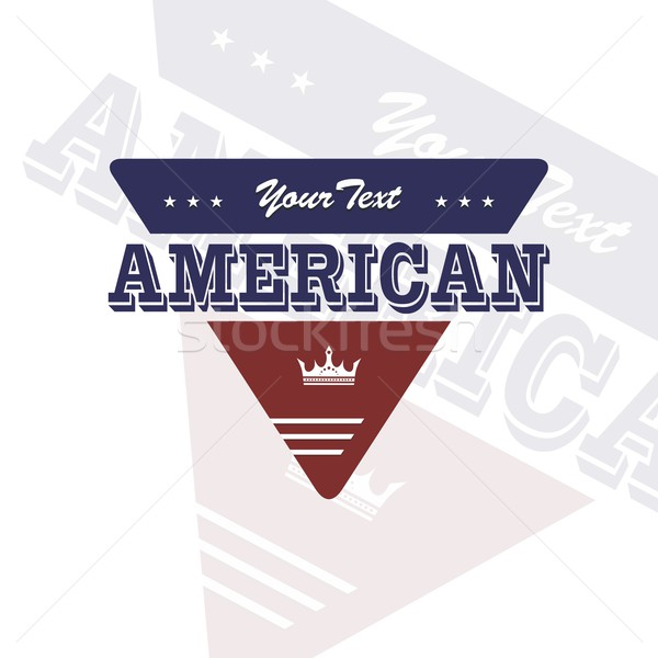 america emblem Stock photo © vector1st
