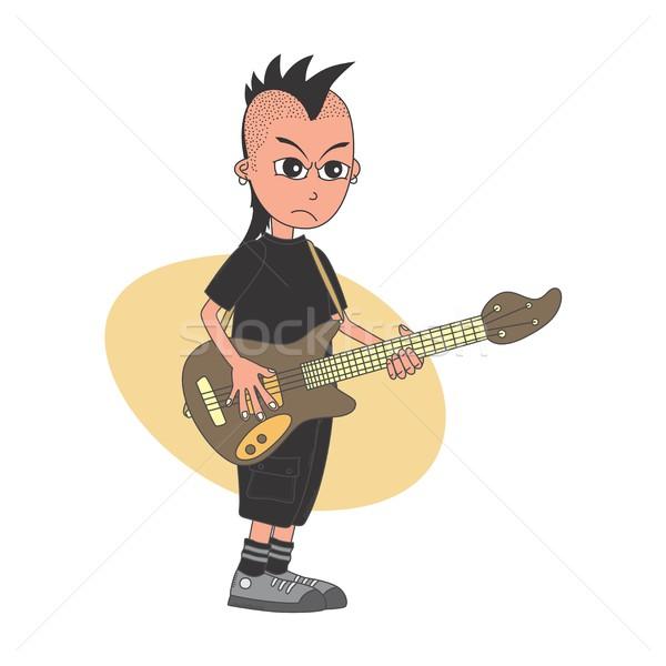 cartoon guy character Stock photo © vector1st